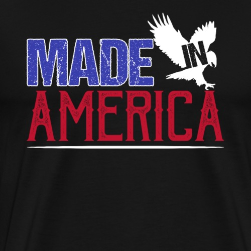 Made in America 4th of July Independence Day - Men's Premium T-Shirt