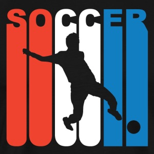 Red White And Blue Soccer - Men's Premium T-Shirt