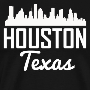 Houston Texas Skyline - Men's Premium T-Shirt