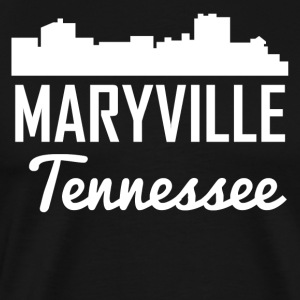 Maryville Tennessee Skyline - Men's Premium T-Shirt