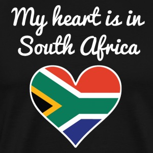 My Heart Is In South Africa - Men's Premium T-Shirt