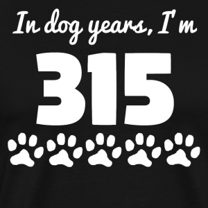 Dog Years 45th Birthday - Men's Premium T-Shirt