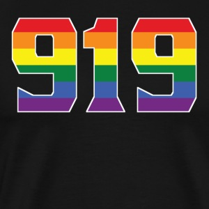 Gay Pride 919 Raleigh Area Code - Men's Premium T-Shirt
