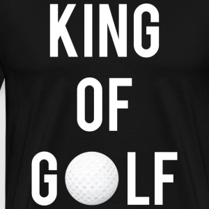 King of Golf - Men's Premium T-Shirt