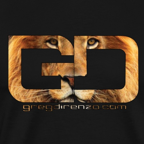 Lion Logo - Men's Premium T-Shirt