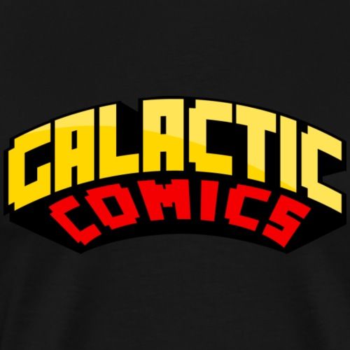 Galactic Comics Logo - Men's Premium T-Shirt