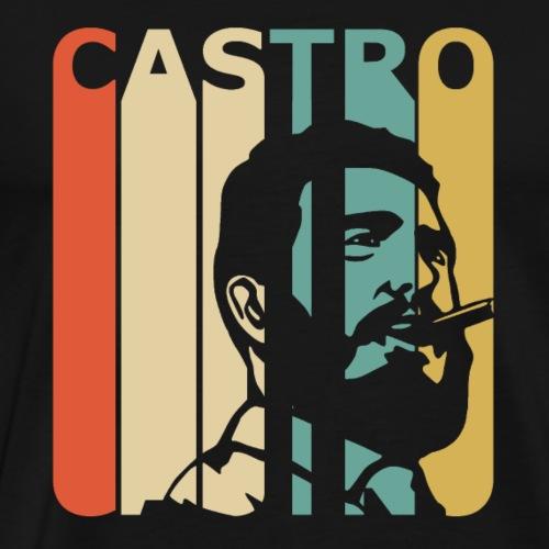 Retro Castro - Men's Premium T-Shirt
