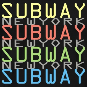 Subway New York - Men's Premium T-Shirt