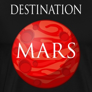 Destination Mars Space - Men's Premium T-Shirt