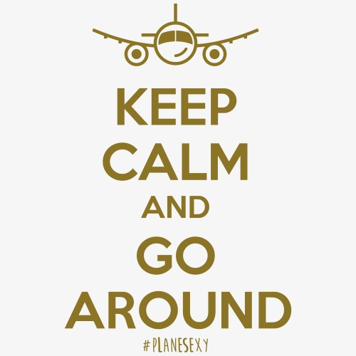 Keep Calm And Go Around - Men's Premium T-Shirt