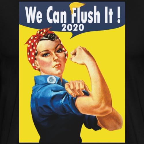 2020 We can flush it! - Men's Premium T-Shirt