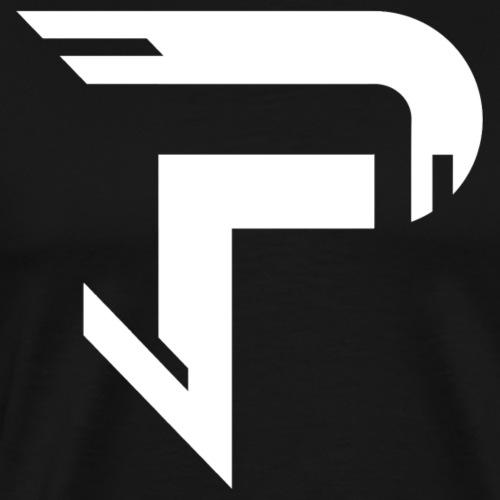Proximitty White Logo Tee - Men's Premium T-Shirt