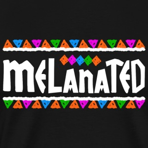Melanated - Men's Premium T-Shirt