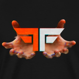 Fearless Society Glitch Logo - Men's Premium T-Shirt