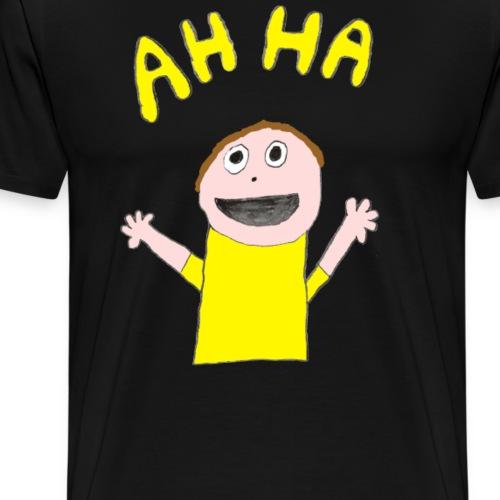 Kid: AH HA - Men's Premium T-Shirt