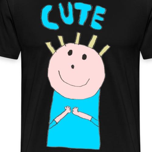 Baby: Cute - Men's Premium T-Shirt