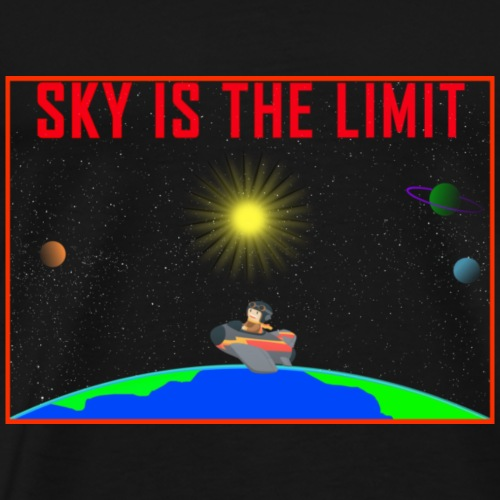 Sky is the limit - Men's Premium T-Shirt