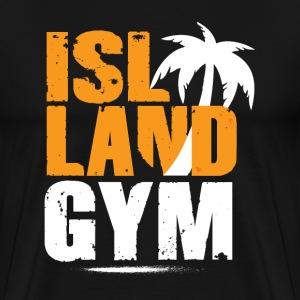Island Gym 1 color IG - Men's Premium T-Shirt