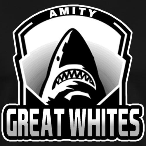Amity Great Whites - Men's Premium T-Shirt