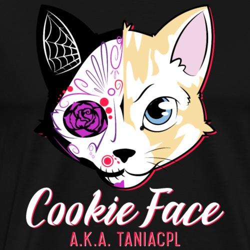 CookieFace logo white - Men's Premium T-Shirt