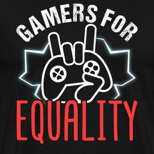 Gamers For Equality - Men's Premium T-Shirt