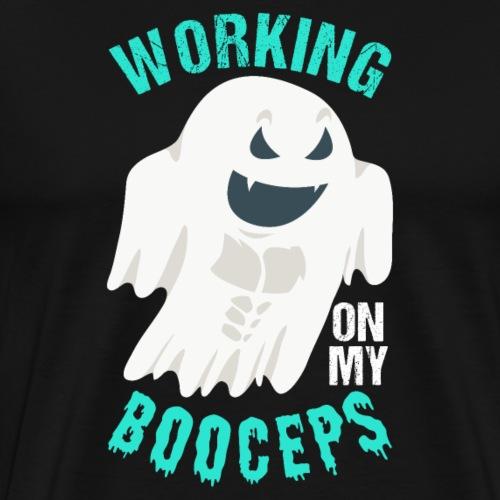 Working On My Booceps - Men's Premium T-Shirt