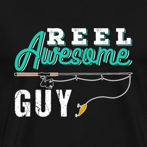 Reel Awesome Guy | Fishing - Men's Premium T-Shirt