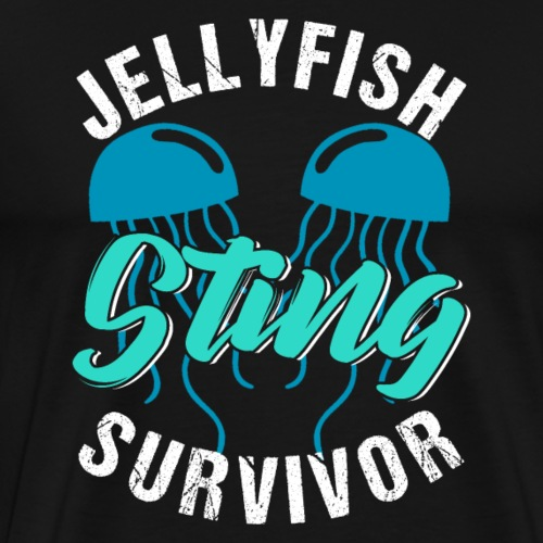 Jellyfish Sting Survivor - Men's Premium T-Shirt