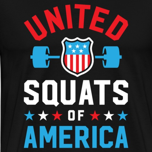 United Squats Of America v2 - Men's Premium T-Shirt