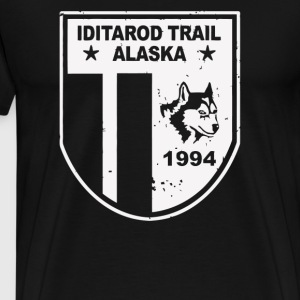 Iditarod Trail Race Alaska Sled Dog Racing - Men's Premium T-Shirt