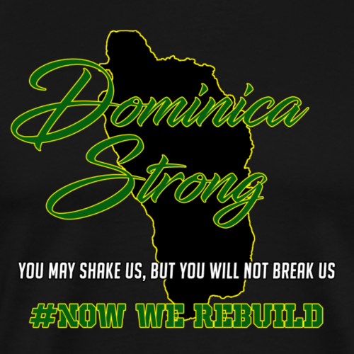 Dominica Strong - Men's Premium T-Shirt