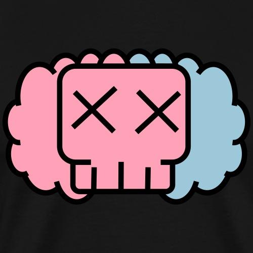 Cotton candy skullkid - Men's Premium T-Shirt