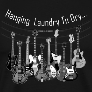 hanging laundry - Men's Premium T-Shirt