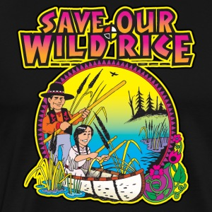 Wild Rice 1 - Men's Premium T-Shirt