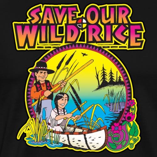 Wild Rice 1 - Men's Premium T-Shirt