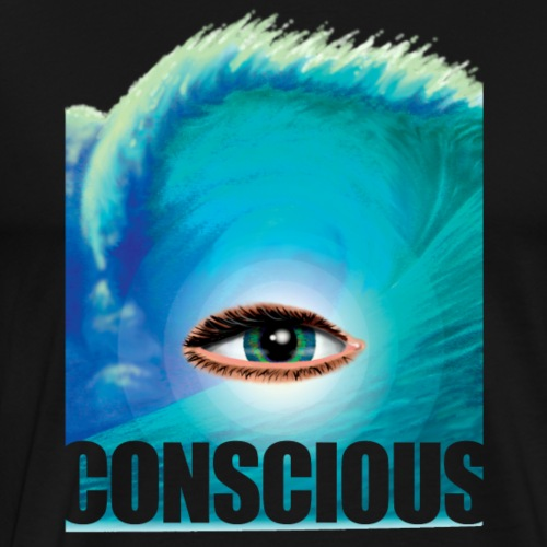 CONSCIOUS too - Men's Premium T-Shirt