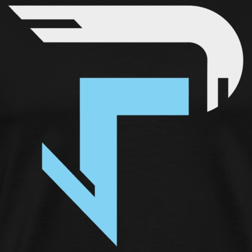 Proximitty Silver and Blue Logo - Men's Premium T-Shirt
