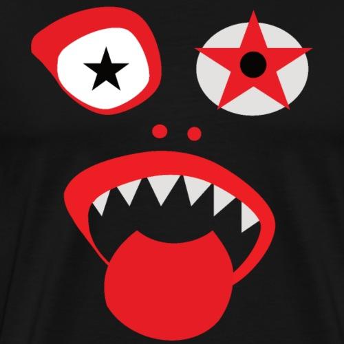 Grazy Clown Face - Men's Premium T-Shirt