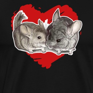 Chinchilla Love Tee Shirt - Men's Premium T-Shirt