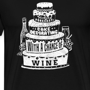 Chance of Wine - Men's Premium T-Shirt