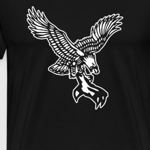 FROSTY TEES MENS EAGLE CLAW TATTOO STYLE - Men's Premium T-Shirt