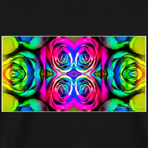Rainbow Roses - Men's Premium T-Shirt