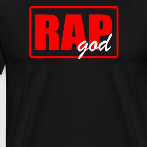 RAP GODRAP GOD - Men's Premium T-Shirt