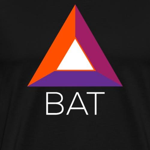 Basic Attention Token (BAT) Crypto Logo - Men's Premium T-Shirt