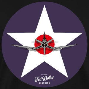 Navy Star - Men's Premium T-Shirt