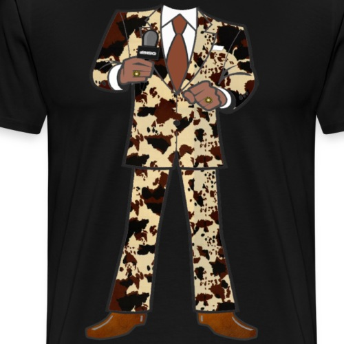 The Classic Cow Suit - Men's Premium T-Shirt