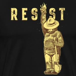 Smokey say RESIST - Men's Premium T-Shirt