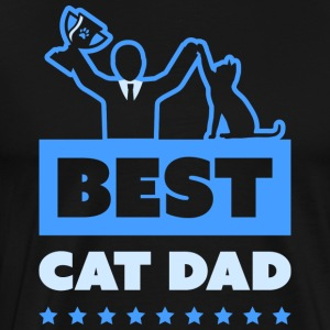 Best Cat Dad - Men's Premium T-Shirt