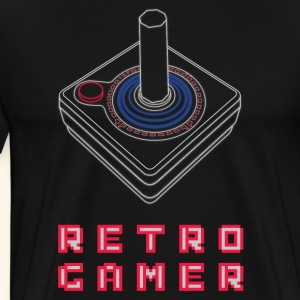Retro Gamer - Men's Premium T-Shirt