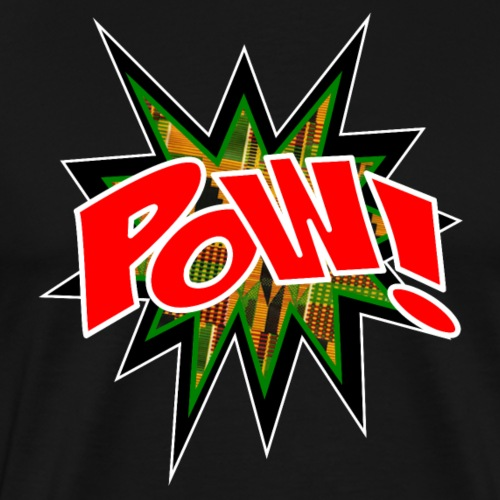 Kente POW! - Men's Premium T-Shirt
